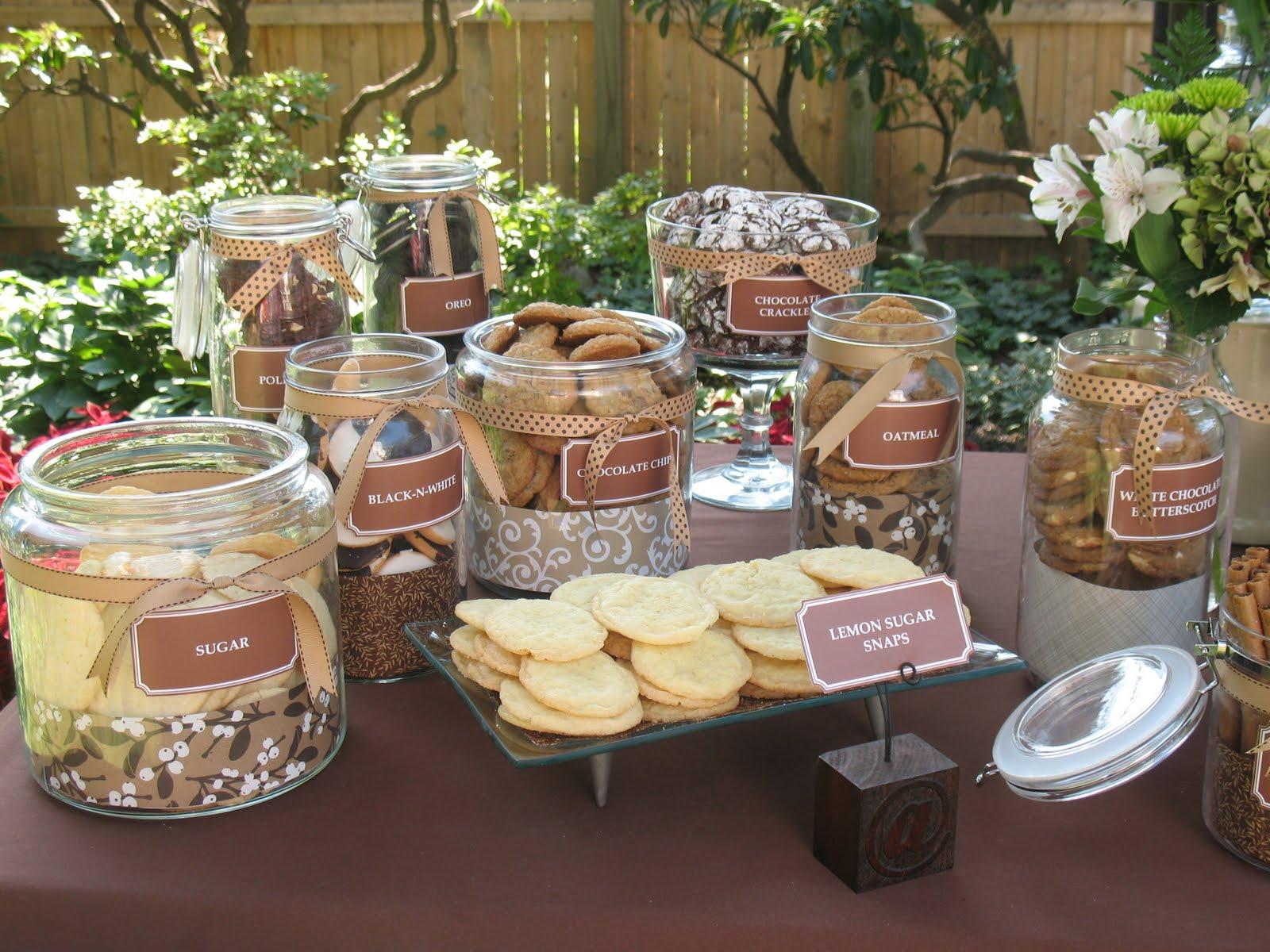 mesa de postres boda galletas pastel
