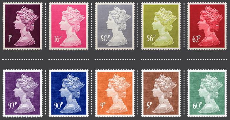 Stamp Rug decor «